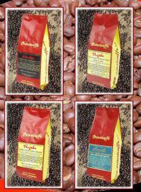 Sada unikátních výběrových káv z kvalitních malých plantáží 4 x 250 g , Nepál, Thajsko, Indonésie
