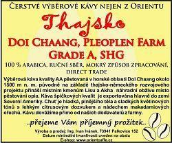 Arabica Doi Chaang, Pleolpen Farm, SHG Grade A 2