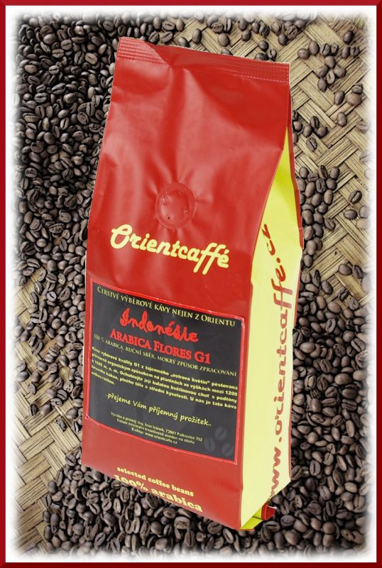 Arabica Flores G1 - jednodruhová výběrová káva Indonésie